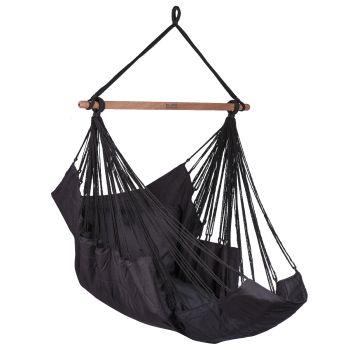 Hangstoel Eénpersoons 'Sereno' Black