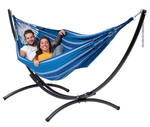 Hangmat met Standaard Tweepersoons 'Arc & Chill' Calm
