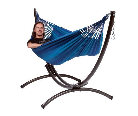 Hangmat met Standaard Eénpersoons 'Arc & Dream' Blue