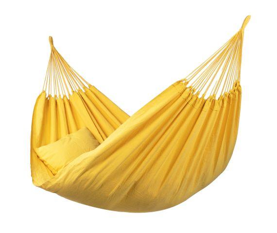 Hangmat Tweepersoons 'Organic' Yellow