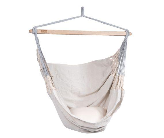 Hangstoel Eénpersoons 'Comfort' Pearl