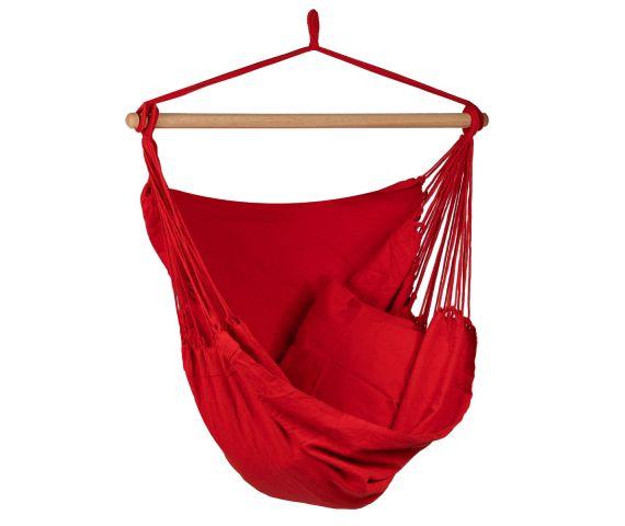 Hangstoel Eénpersoons 'Organic' Red