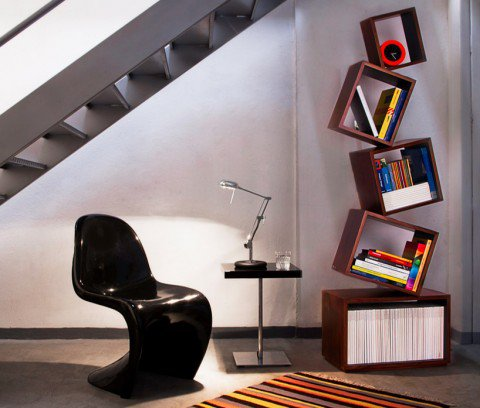 Malagana boekenkast