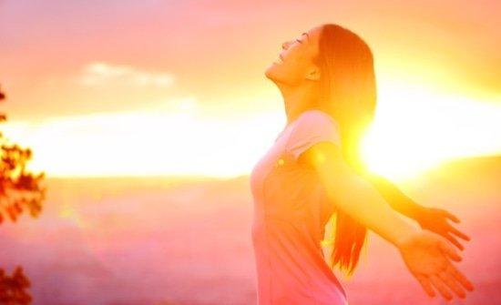 De heilzame werking van de zon