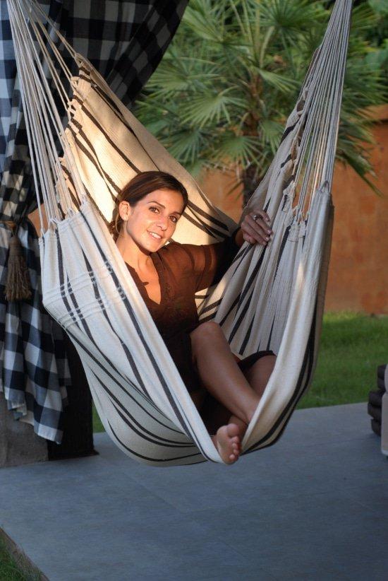Last minute tuintips voor zomertuin hangstoel