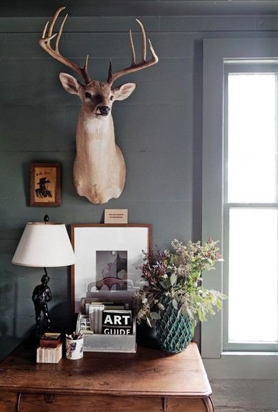 Een opgezet dier als statement piece in het interieur
