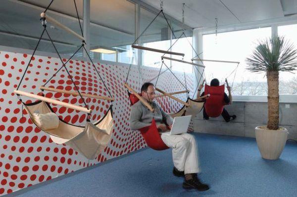 Een hangstoel bevordert studieprestaties